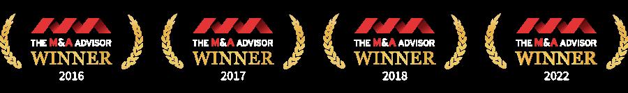 M and A Advisor award