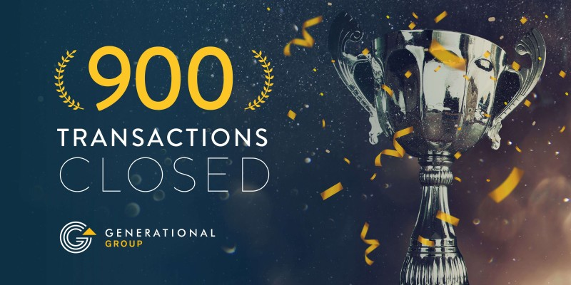 900 Closed Transactions