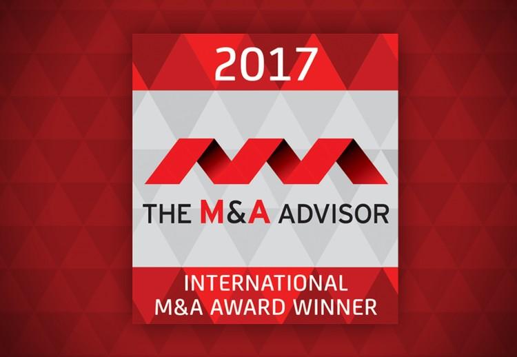 International M&A Advisor Award