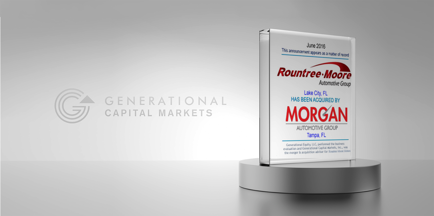 Rountree Moore Ford >> Rountree-Moore acquired by Morgan Auto Group