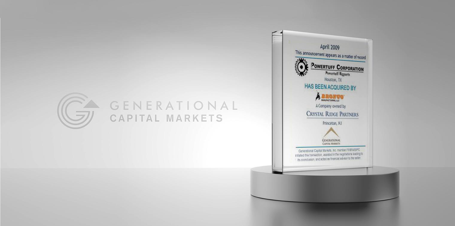 Powertuff Rigs - Generational Capital Markets