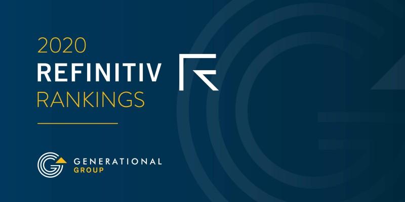 Generational-Equity-2020-refinitiv-rankings
