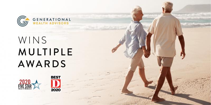 Generational Wealth Advisors Awards 2020